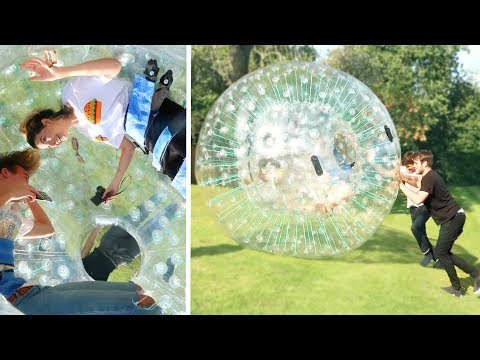 BUYING A ZORB BALL FOR THE GARDEN!!