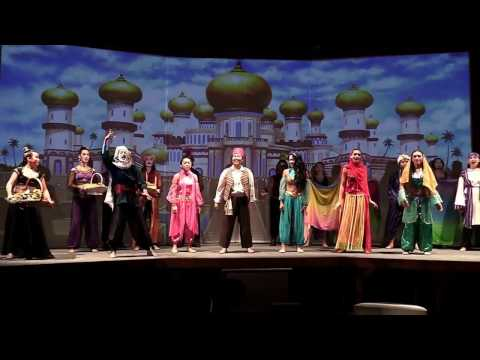 """Aladdin (Jr.)"": The Priory Theater's 2017 musical (full show)"