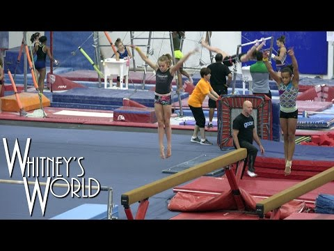 Gymnastics Training | Whitney Bjerken