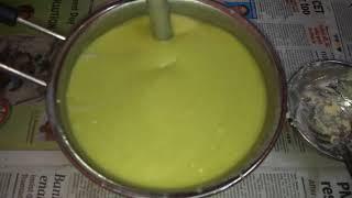 Avocado soap making