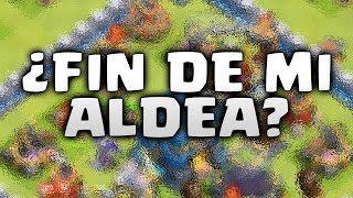 POR FIN MUROS AL MAXIMO ¿ FIN DE MI ALDEA ?  - CLASH OF CLANS
