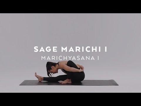 How to do Sage Marichi I Pose | Marichyasana I Tutorial with Briohny Smyth
