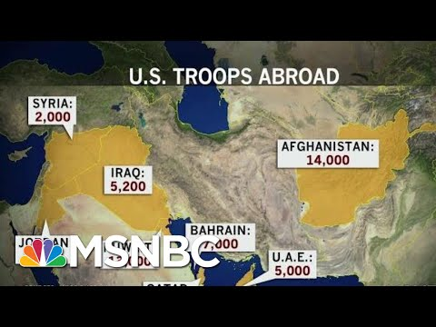 US Servicemembers Abroad At Increased Risk After Trump Iran Attack   Rachel Maddow   MSNBC