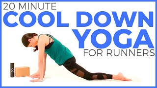 20 minute Yoga for Runners | Post Run Yoga Cool Down