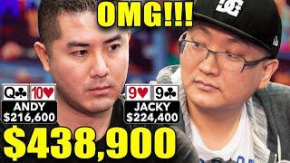 OMG!!! $439,000 Pot!!! ♠ Live at the Bike!