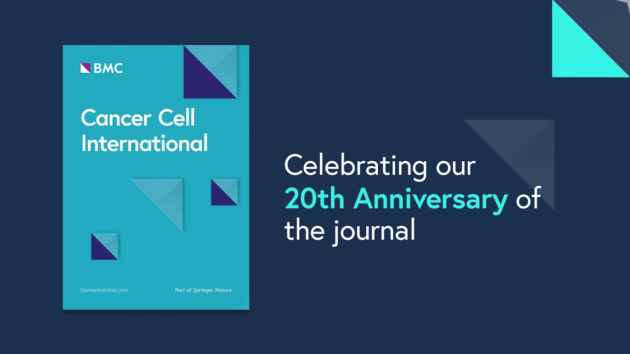 Cancer Cell International: 20 years of novel cancer studies