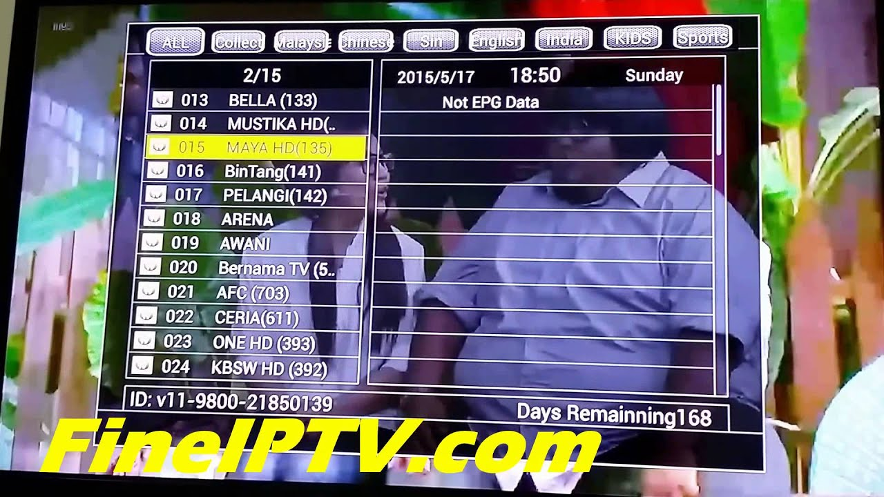 FineIPTV - Free Astro & All Channel Worldwide (HD included)
