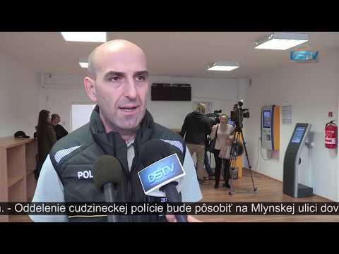 Otvorili Oddelenie Cudzineckej Polície PZ V Dunajskej Strede