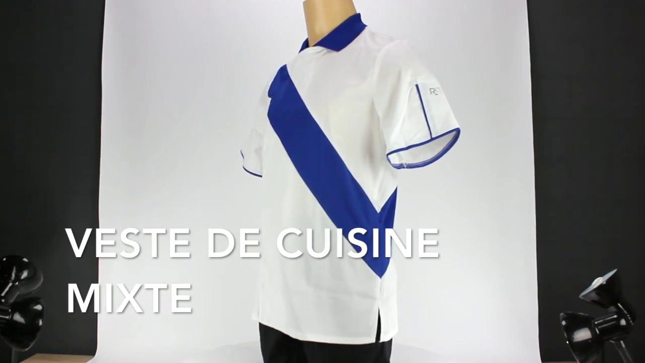 Veste De Cuisine Robur Style Polo Lisavet Youtube