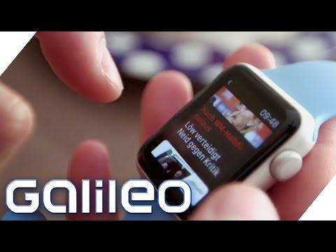 Apple Watch - Spielzeug oder Alltagshelfer?   Galileo    ProSieben