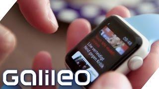 Apple Watch - Spielzeug oder Alltagshelfer? | Galileo |  ProSieben