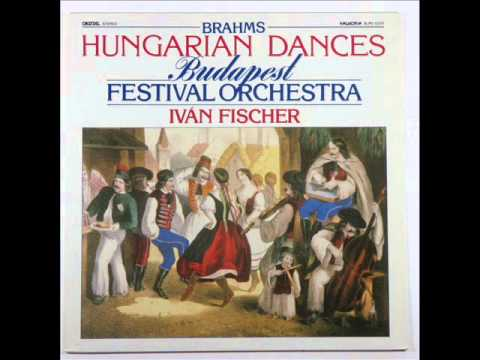 Johannes Brahms : Hungarian Dances - Budapest festival Orchestra