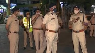 Delhi Police Chief Inspects Enforcement Of Night Curfew