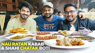 Karachi Street Food | Chandan & Nauratan Kabab | Khaosuey, Lacha Paratha | Pakistani Food