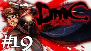 How Dante Got His Groove Back - DMC - Devil May Cry Gameplay / Walkthrough w/ SSoHPKC Part 19 - Fighting the News