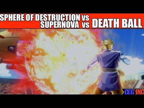 Download Dragon Ball Xenoverse - Death Ball vs Supernova vs Sphere of Destruction