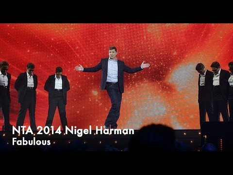 2014 NTA - Nigel Harman performs Fabulous from 'I Can't Sing'