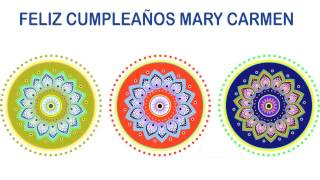 MaryCarmen   Indian Designs - Happy Birthday
