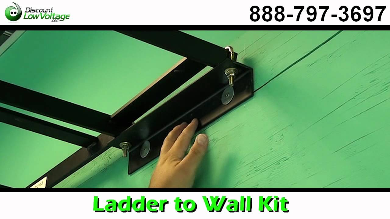 cable runway ladder to wall mount kit