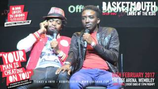 BASKETMOUTH - Date Night - @basketmouth LIVE AT THE SSE ARENA WEMBLEY Valentines Day