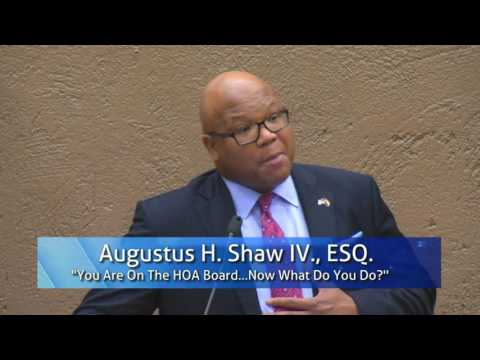 Responsibilities of an HOA Board Member