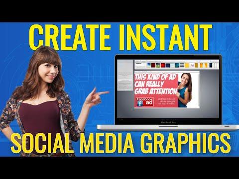 social media graphics creator