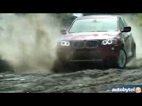 2013 BMW X3 xDrive28i AWD Crossover Off-Road Test