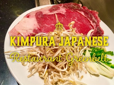 New Year's Eve Dinner: Kimpura Japanese Teppanyaki Restaurant Greenbelt Makati