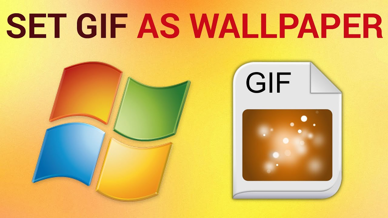 Gif sfondo desktop windows 7