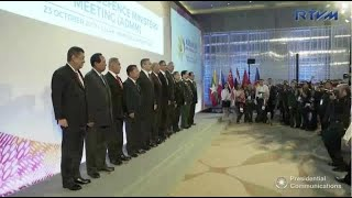 Defense chiefs tackle terrorism, extremism ahead of formal Asean confab