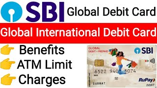SBI Global International Debit Card  || SBI Global Debit Card || Sbi Global Debit Prepaid Card