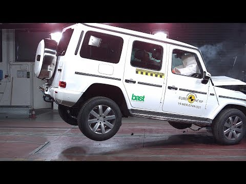 2019 Mercedes G-CLASS - CRASH TEST