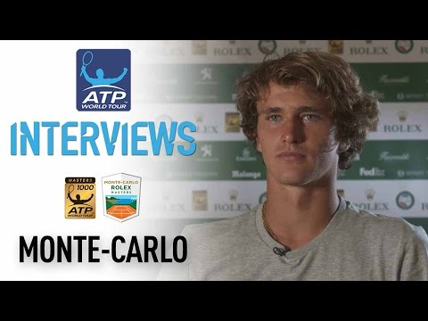 Interview: Alexander Zverev Pleased With Monte-Carlo 2017 Opener
