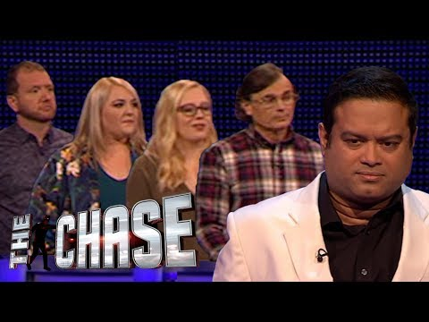 The Chase | Full Team £20,000 Final Chase Against The Sinnerman