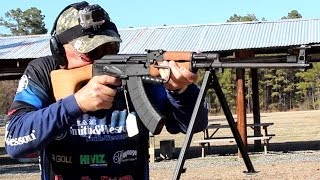 AK47 (RPK) 30 rounds in under 5 seconds with new Magpul PMAG 7.62x39