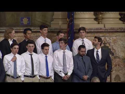 Vincentian Academy Honored On House Floor