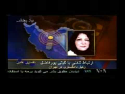 The interview of Ayatollah Boroujerdi's lawyer, Mrs. Giti Pour Fazel, with the Voice of America (VOA news) TV