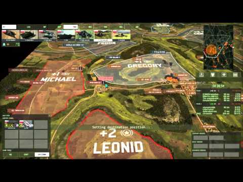 Wargame Red Dragon 4v4 on Jungle Law using Polish Armored Deck