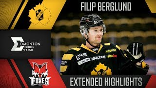 Filip Berglund | Extended Highlights vs HC Bolzano | Aug. 31, 2018