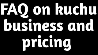 Frequently asked questions about pricing and Saree kuchu business