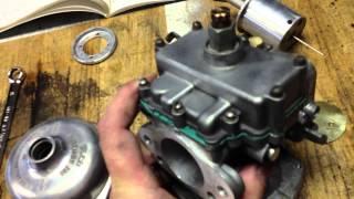 rebuilding stromberg cd175 carbs on tr3a tr4a part 2