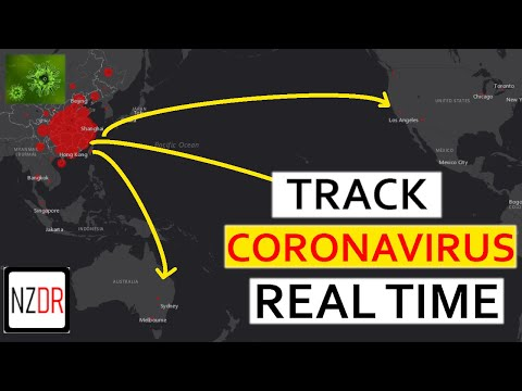 This Map Shows All The Cases Of COVID 19 In The World REAL-TIME Virus Map