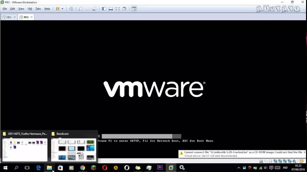 Problem With Vmware and Winbox (can\'t detect mac address) - YouTube