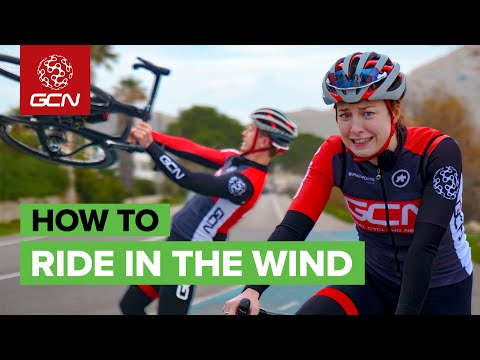 How To Ride Your Bike In The Wind   GCN's Pro Cycling Tips