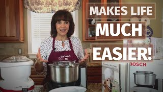 Unboxing The NEW Bosch Mixer Universal [You NEED This in Your Kitchen!]