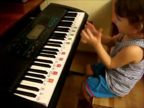 Smart Toddlers Play Piano And Sight-read Music.