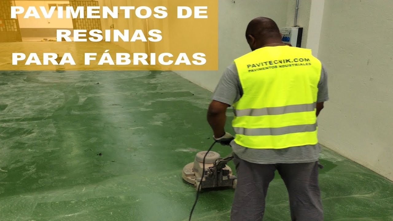 Grupo pavin pavimentos industriales y decorativos youtube for Pavimentos industriales