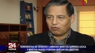 Senderistas Maritza Garrido Lecca y Martha Huaytay podrían salir en libertad