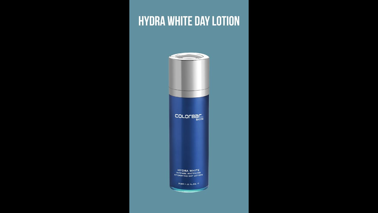 How to apply Hydra White Day Lotion | Hydra WhiteTM | Colorbar Skincare