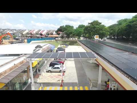 Solar PV System Integration At Shell Station(Malaysia) #1